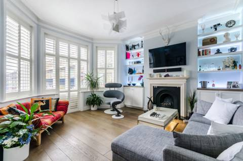 Reception Room in W6