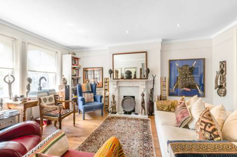Double Reception Room in NW3
