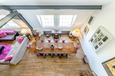 Reception Room/Dining Room in NW5