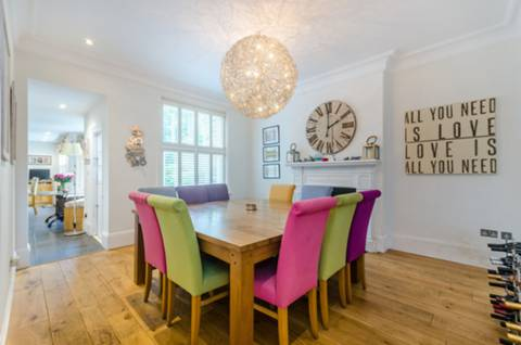 Dining Room in TW1