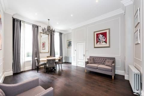 Reception Room/Dining Room in W8