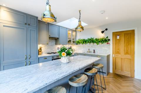 Open-Plan Kitchen in W3
