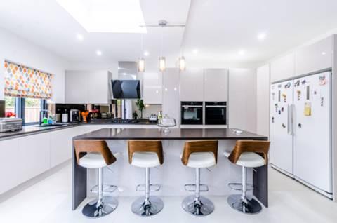 Open-Plan Kitchen in HA9