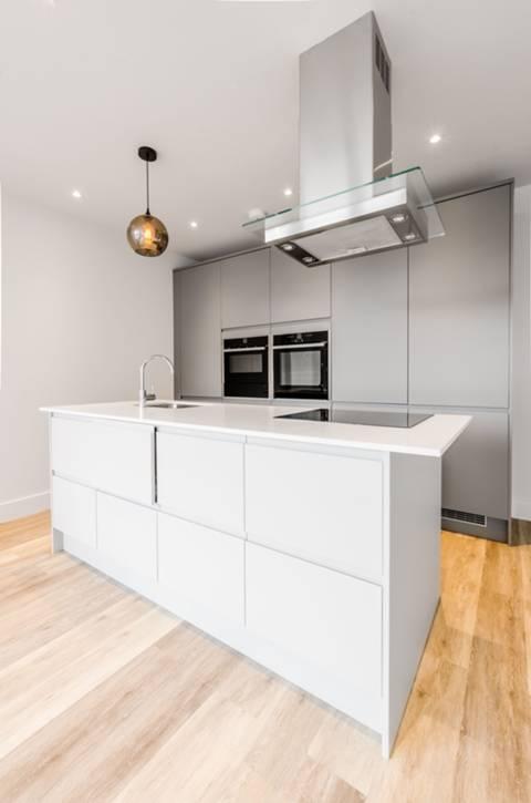 Open-Plan Kitchen in SW6