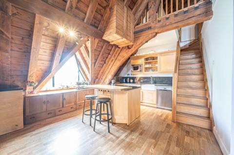 Open-plan kitchens