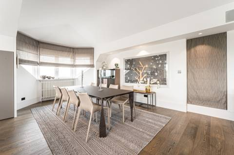 Reception Room/Dining Room in NW3