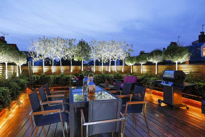 Roof Terrace in SW15