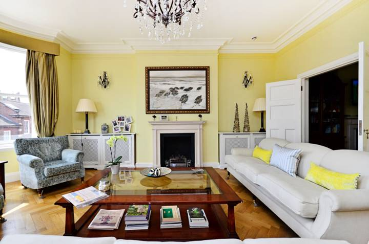 First Reception Room in SW3