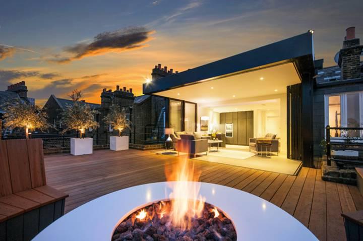 Roof Terrace in W6
