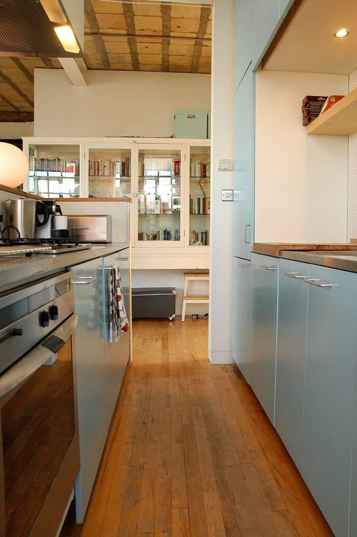Open-Plan Kitchen in EC1V