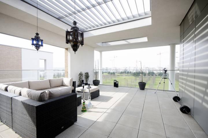 Roof Terrace in E16
