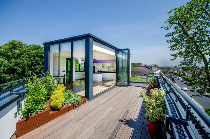 Roof Garden in SW19
