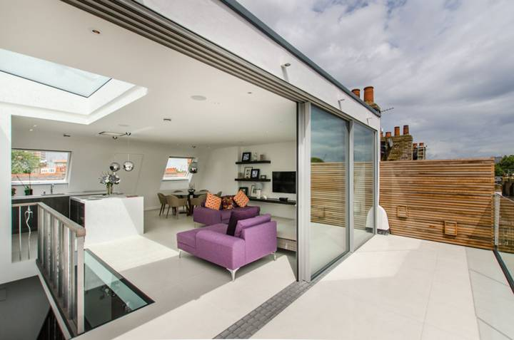 Roof Terrace in W14