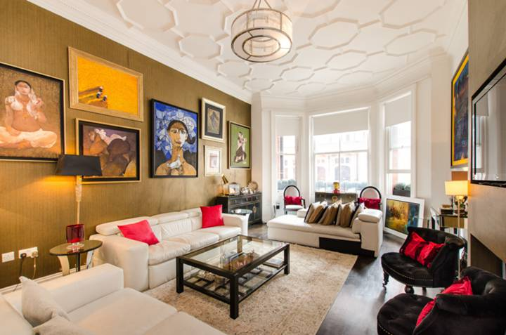 Reception Room in SW3