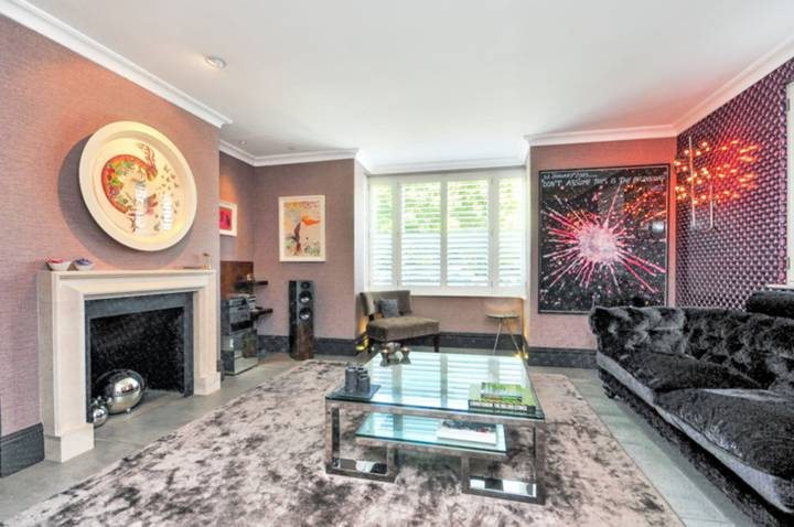 Reception Room in SW15