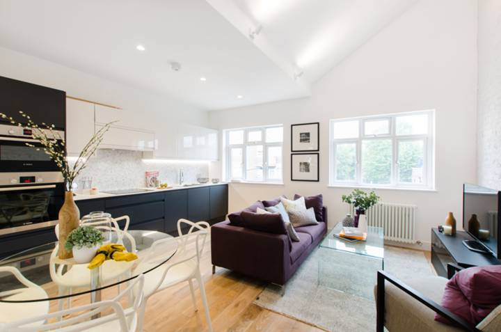 Reception Room in NW5
