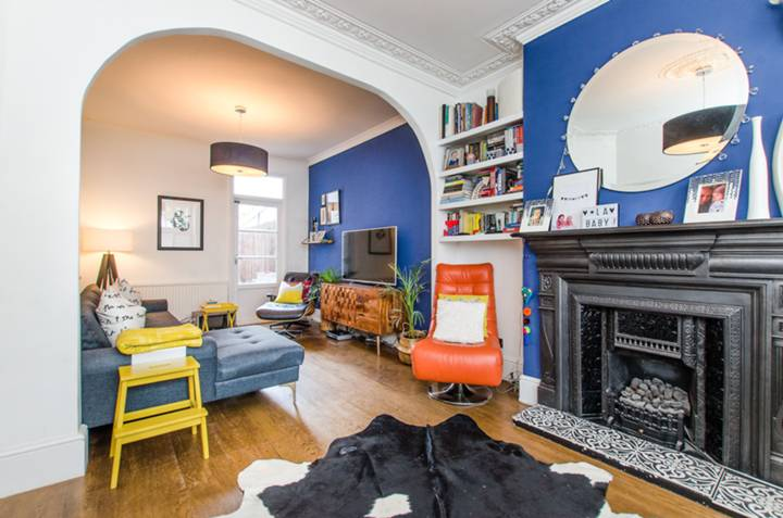 Double Reception Room in SW12