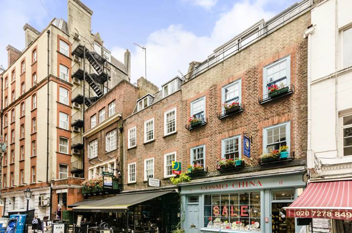 Cosmo Place, Bloomsbury