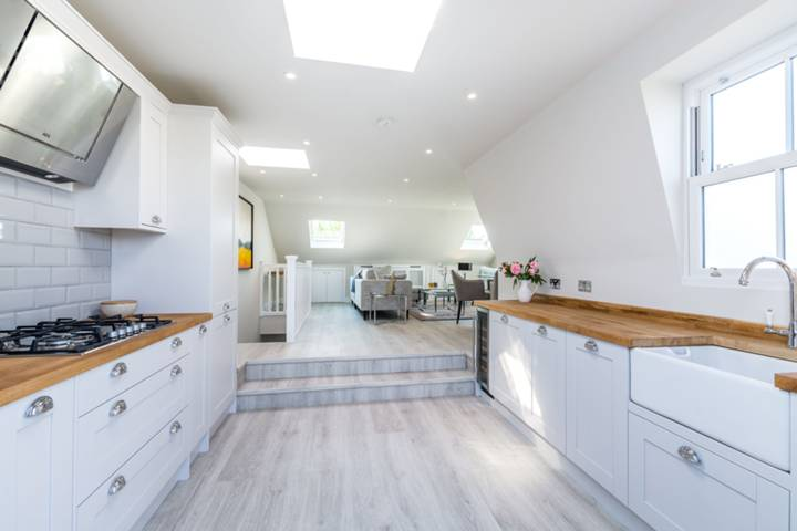 Open-Plan Kitchen in SW12
