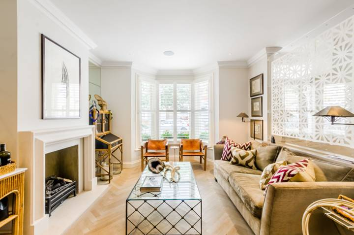 Double Reception Room in SW6