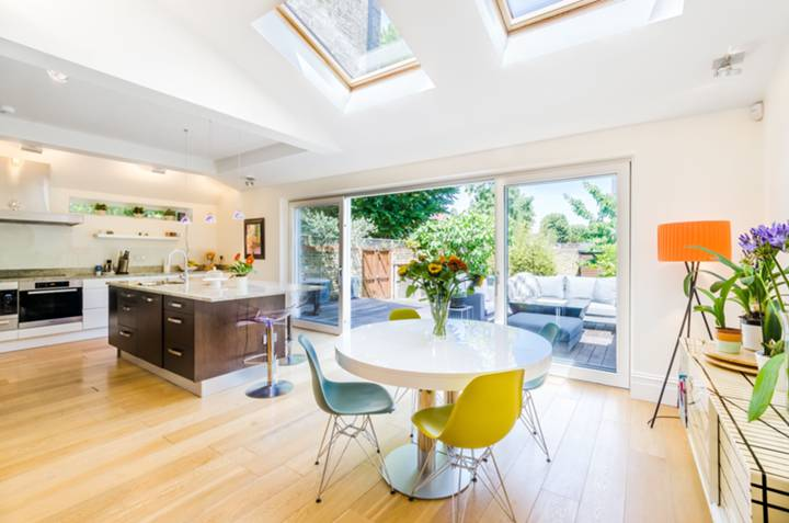 Open-Plan Kitchen in W13
