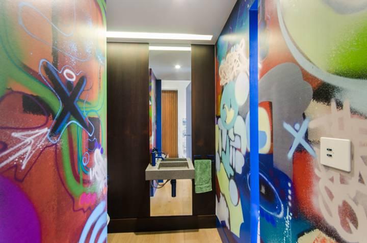 Guest Cloakroom in W9