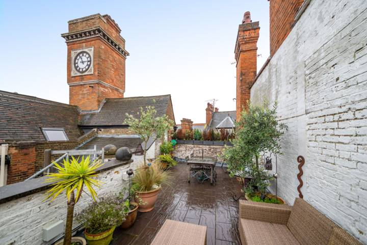 Roof Terrace in NW3