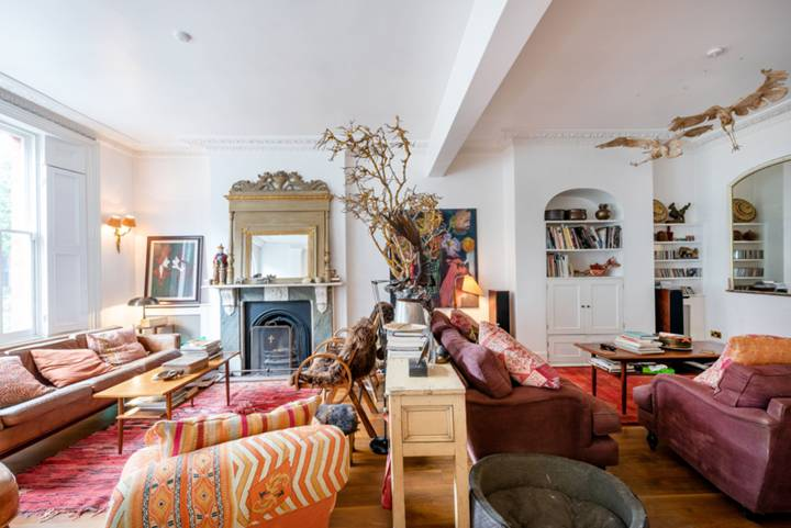 Double Reception Room in NW5